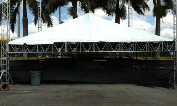 Custom Stage Rental In Miami